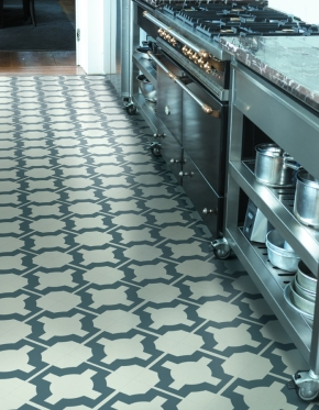 NC - Charcoal Parquet in kitchen